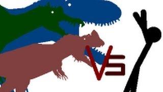 getlinkyoutube.com-Pivot Animation *OLD* Humans vs Dinosaurs 3!
