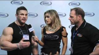 getlinkyoutube.com-Neil Hill and Flex Lewis - Arnold Classic 2011 Gaspari Interview