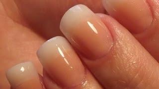 getlinkyoutube.com-Natural Acrylic Nails * DivaDC Natural Powder *