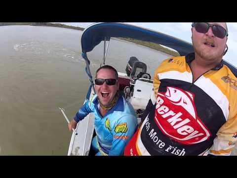 Barramundi Fishing roper river giants