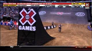 getlinkyoutube.com-2011 X Games MotoX Best Whip