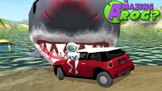 getlinkyoutube.com-THE AMAZING FROG? - Shark Stuffing - Part 13