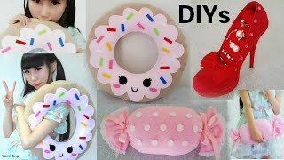 getlinkyoutube.com-3 DIY Room Decors&Organizer: DIY Shoe Jewelry Holder+DIY Donut Pillow+ DIY Candy Pillow
