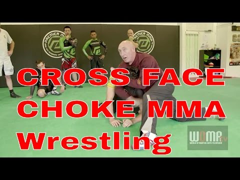 CROSS FACE CHOKE MMA Tips Catch Wrestling pt1