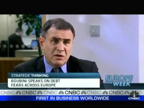 Nouriel Roubini over Europa, Quantitative Easing 2 & China