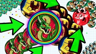 getlinkyoutube.com-ULTIMATE AGAR.IO DOUBLE SPLIT KING??!! Agario Insane Win Compilation!!!