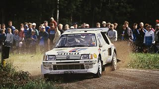 getlinkyoutube.com-Group B Monsters in Finland - with pure engine sounds (1000 Lakes Rally 1983-1986)