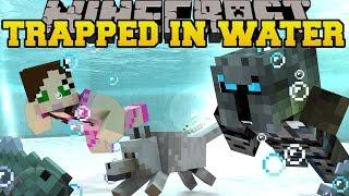 getlinkyoutube.com-Minecraft: TRAPPED UNDER WATER! - HIDDEN BUTTONS 2 - Custom Map