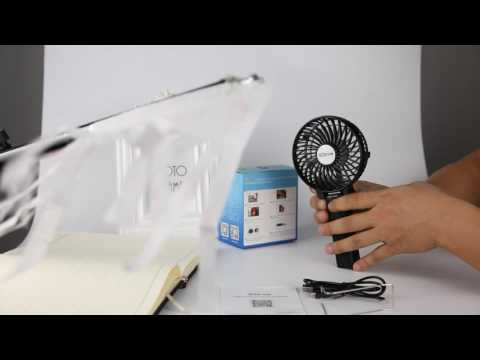 Best sell portable fan battery operated MINI hand-held Clip Fan