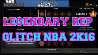getlinkyoutube.com-LEGENDARY REP GLITCH NBA 2K16 ON PS4 & XBOX1