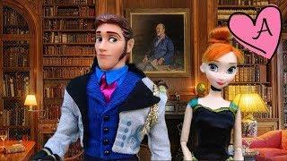 getlinkyoutube.com-Dramas de princesa con muñecas y juguetes de Frozen Anna y Elsa y princesas Disney - Capítulo 5