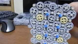 getlinkyoutube.com-Lego Technic 8 20 24 Teeth Gears Combination