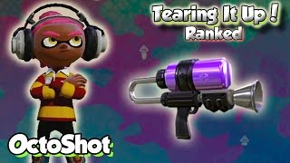 getlinkyoutube.com-Splatoon Multiplayer - Tearing It Up W/ OctoShot (Getting GNARLY with the Tentatek!)