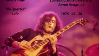 getlinkyoutube.com-Led Zeppelin 1975 02 28 No Quarter solo