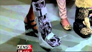 Fashionable Injury? You Bet! CastMedic Designs on KENS5!