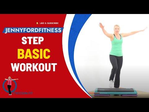 Step Aerobics Super Quick Workout At Home Cardio - 2 Combos