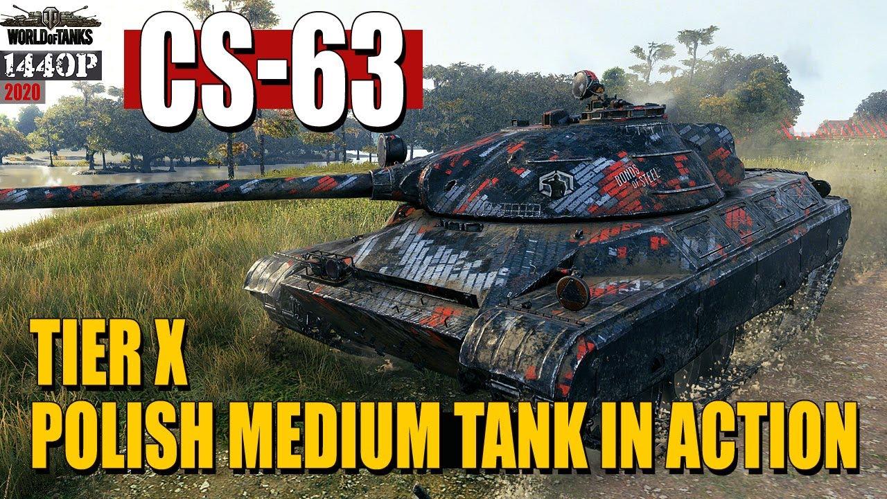 CS-63: Tier X Polish Medium Tank in action