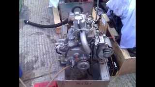 yanmar sb8 8hp marine diesel engine youtube rh youtube com Yanmar Diesel Tractor 4WD yanmar ysb8 service manual
