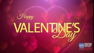 Drop Matrix Wishes - HAPPY VALENTINES DAY