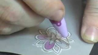 getlinkyoutube.com-Parchment Crafting with SweetStamps.com Rubber Stamps