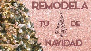getlinkyoutube.com-Remodela tu árbol de navidad en 6 pasos! - Carolina Ortiz