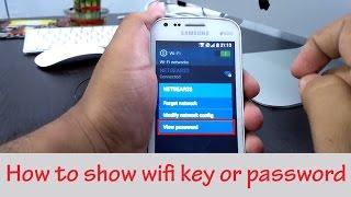 getlinkyoutube.com-How To Show WiFi Key or Password