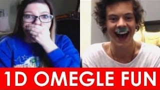 getlinkyoutube.com-★ One Direction Omegle Prank! ★ #4 | One Direction Trolleando en Omegle!