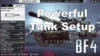 Battlefield 4 - Powerful Tank Setup