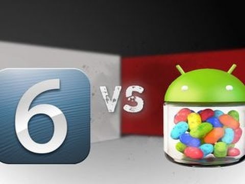 Prizefight - iOS 6 vs. Android Jelly Bean