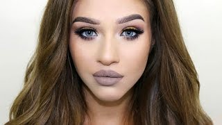 getlinkyoutube.com-'POSH SPICE' Makeup Tutorial | Chit Chat Get Ready With Me