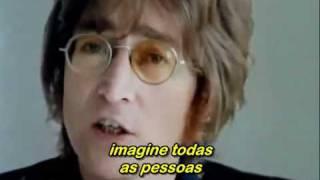 getlinkyoutube.com-Imagine - John Lennon (Legendado) Excellent !!!