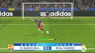 getlinkyoutube.com-PES 2016 - Penalty Kicks - FC Barcelona Vs Real Madrid -  PS4 Gameplay
