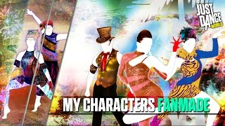getlinkyoutube.com-Just Dance 2016 | My Characters Just Dance | Part 12 | FANMADE