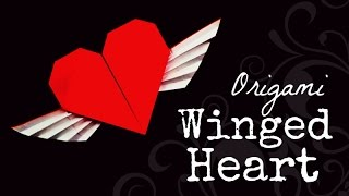 getlinkyoutube.com-Origami winged heart instructions (Francis Ow)