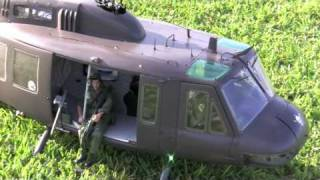 getlinkyoutube.com-UH-1 Huey D scale turbine helicopter