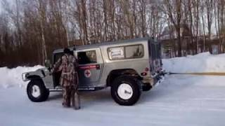 getlinkyoutube.com-Hummer H1 VS Dodge Ram. Part 2