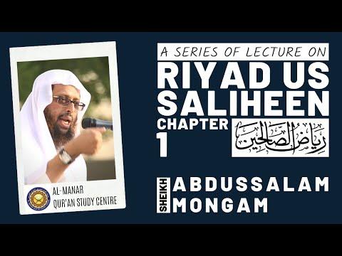 Riyadussaliheen-Part-2 Abdussalam Mongam