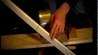 How to build a foam cored PVC recurved reflex longbow.