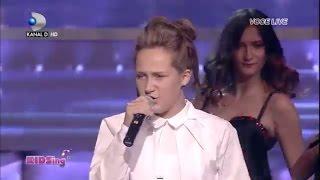 getlinkyoutube.com-Tatiana Stefan canta Ain't no other man - Semifinala 2 - KIDSing 2014