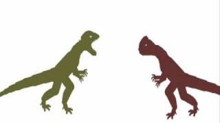 getlinkyoutube.com-PDBA - Dilophosaurus VS Monolophosaurus