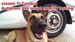 getlinkyoutube.com-xiaomi Yi Camera - Autoexec.ash script modify testing