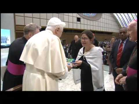 Pope greets world march for peace and nonviolence