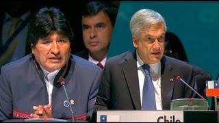 El cruce de palabras entre Piñera y Morales en la Celac