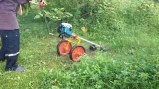 getlinkyoutube.com-เครื่องตัดหญ้ารถเข็น