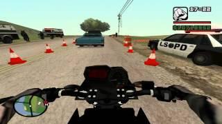 getlinkyoutube.com-XJ6 PRETA - Cortando giro antes do comando e tomando enquadro , moto apreendida