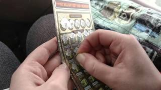 getlinkyoutube.com-$20 Gamble - Mega Money Multiplier - BIG Winning Scratch Off Ticket! MUST WATCH!