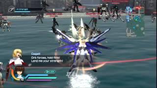 getlinkyoutube.com-Dynasty Warriors: Gundam Reborn - Freedom Gundam Gameplay - (Hard Mode)