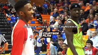 getlinkyoutube.com-Derrick Jones vs. Malik Newman @ Marshall County Hoopfest