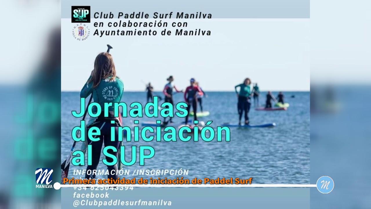 Primera actividad de iniciación de Paddle Surf