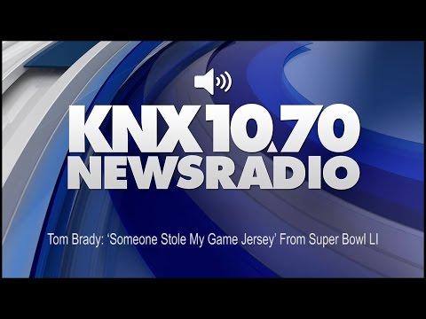 Tom Brady: 'Someone Stole My Game Jersey' From Super Bowl LI (Audio)